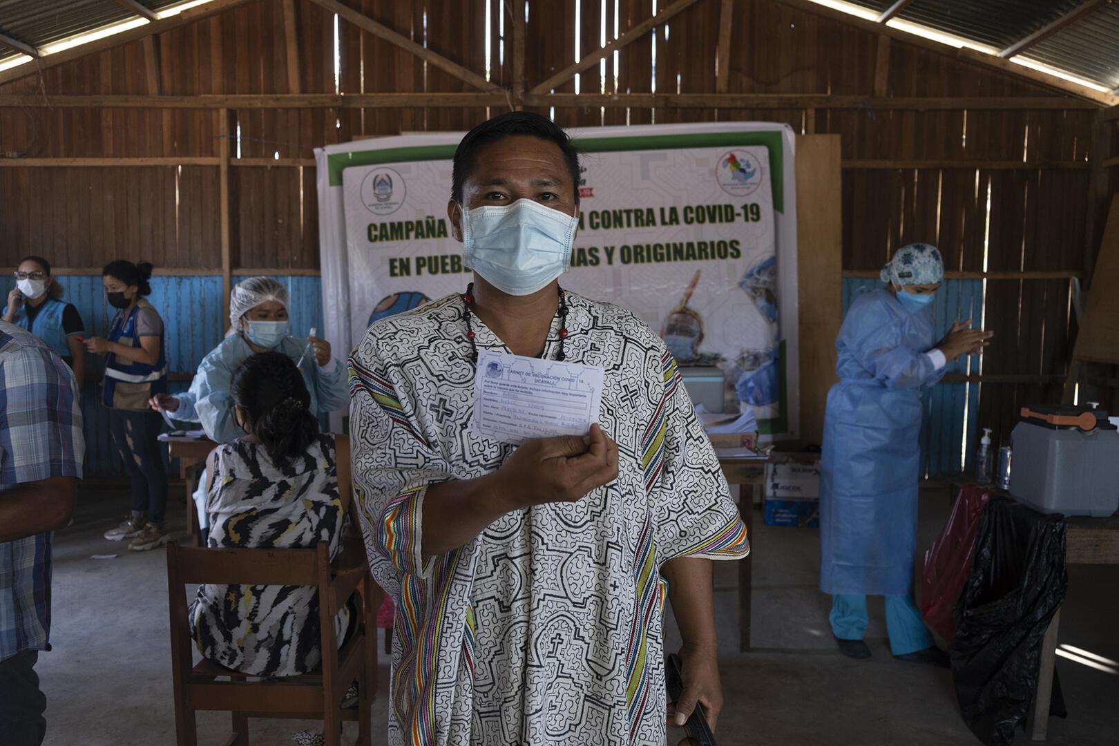Vacunación indígena en riesgo por falta de información adecuada en las comunidades   Ojo Público