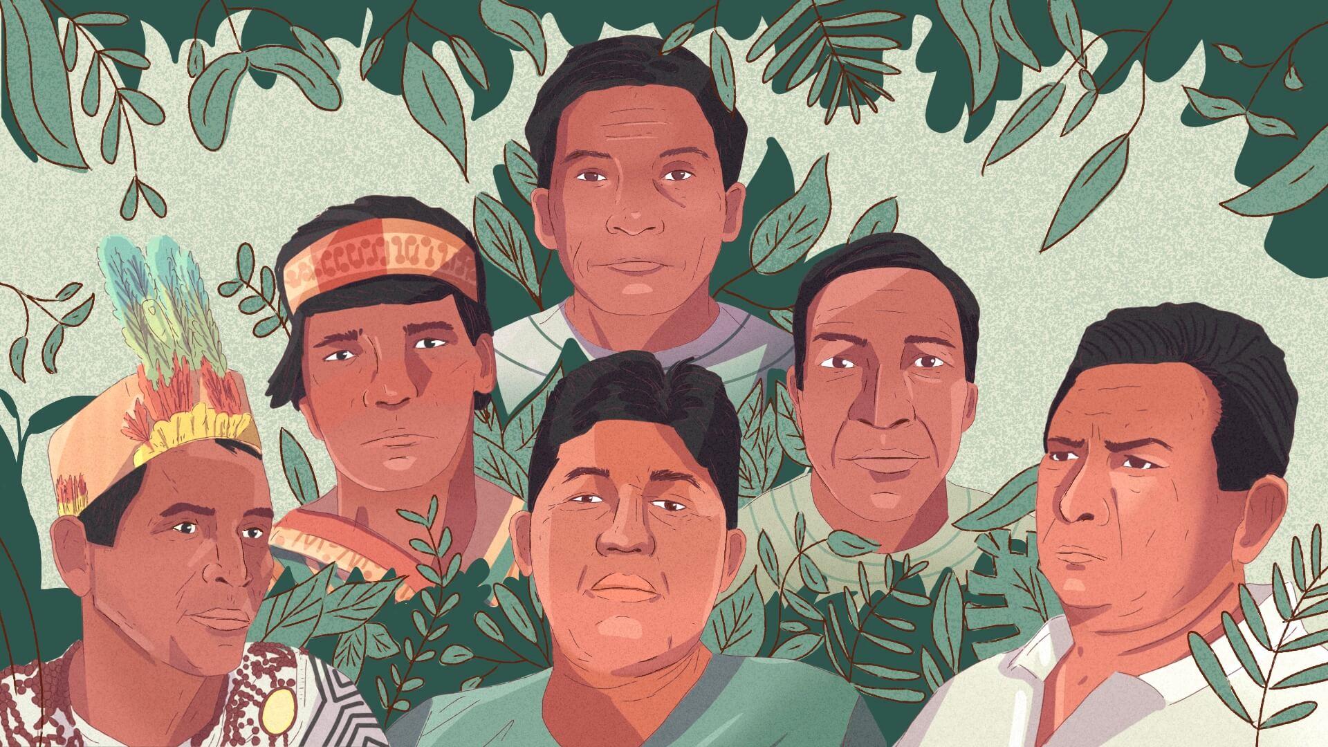 VÍCTIMAS. Seis defensores de derechos humanos fueron asesinados en el 2020 por proteger el medio ambiente.