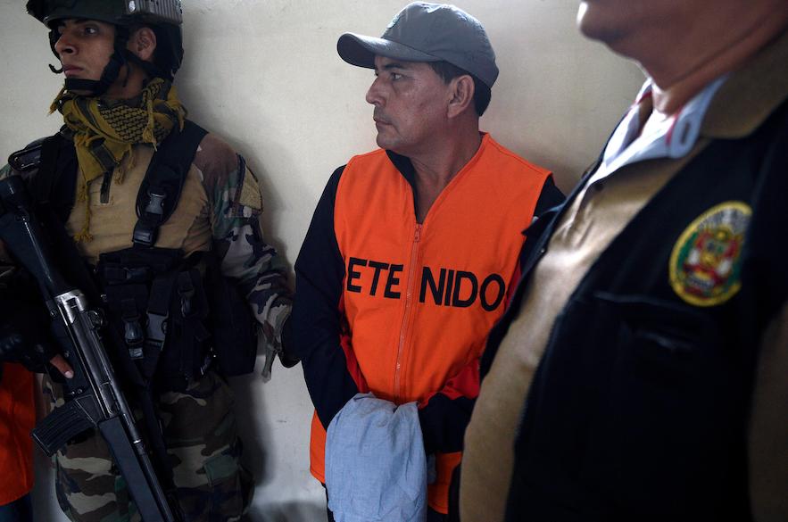 Dictan prisión preventiva a alcalde de Tocache por terrorismo