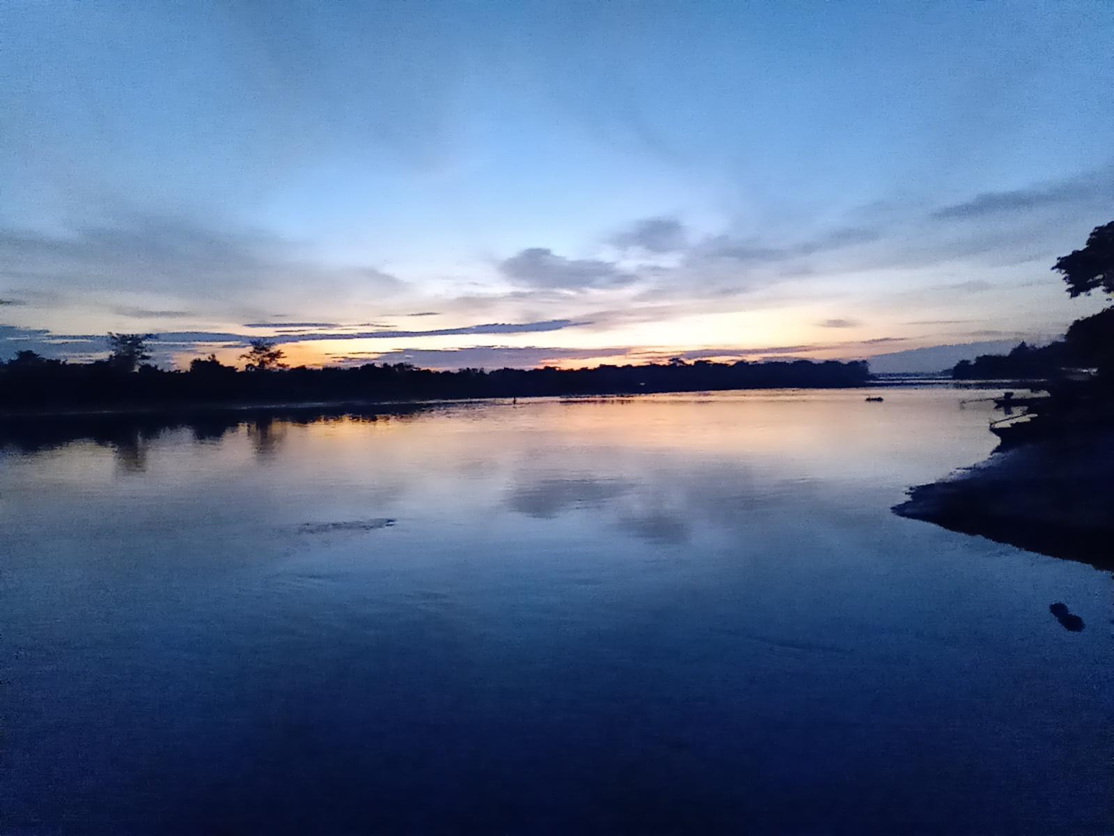 Fotografía del río Pastaza
