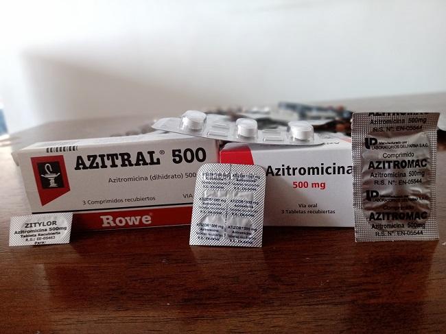 Cajas azitromicina