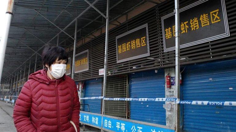 Mercado de mariscos de Wuhan