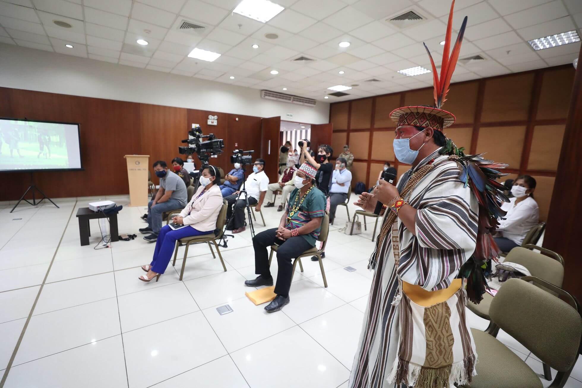 Líderes indígenas - Setiembre 2020 - PCM