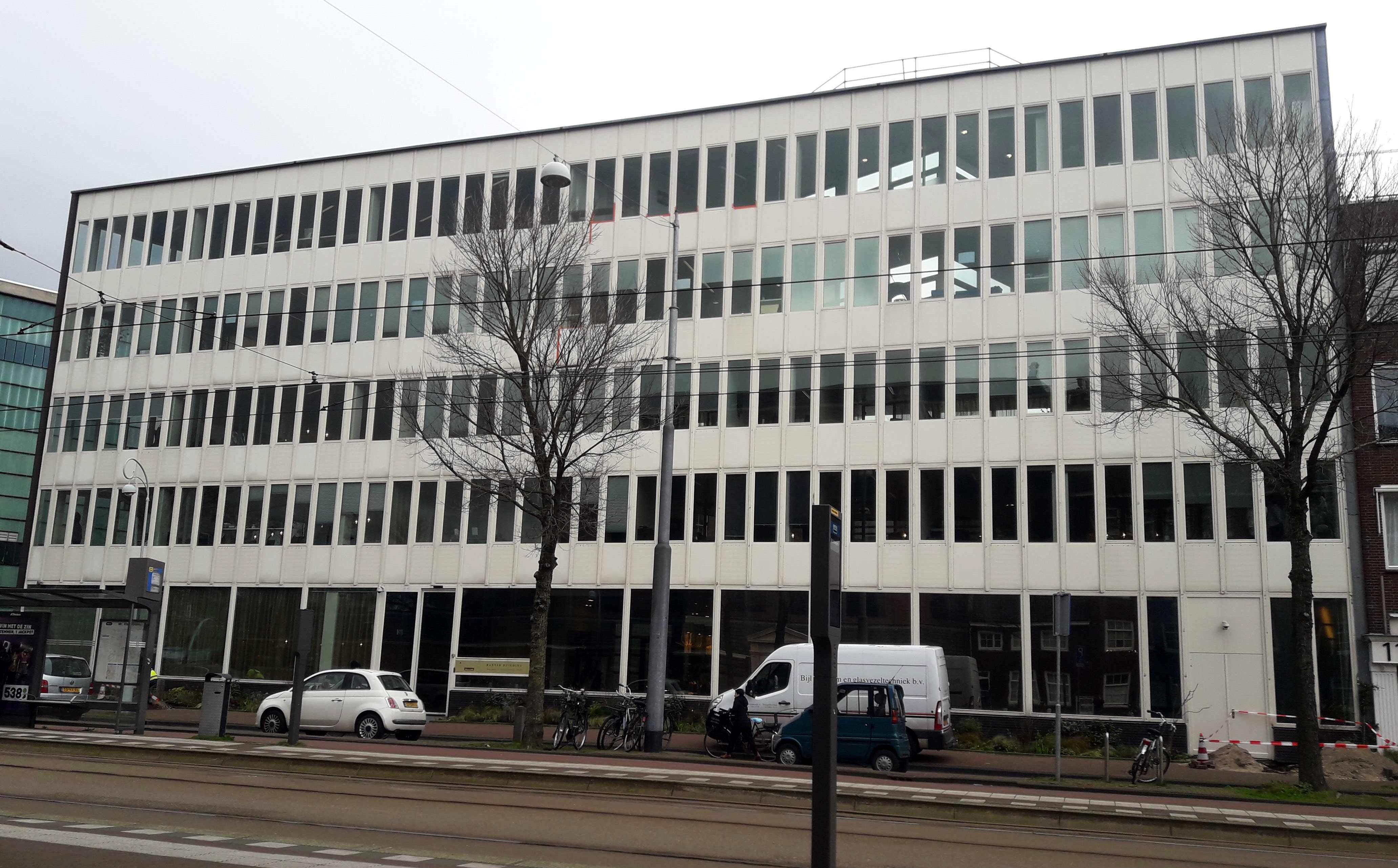 Fotografía del Edificio Baxter, donde opera Pluspetrol