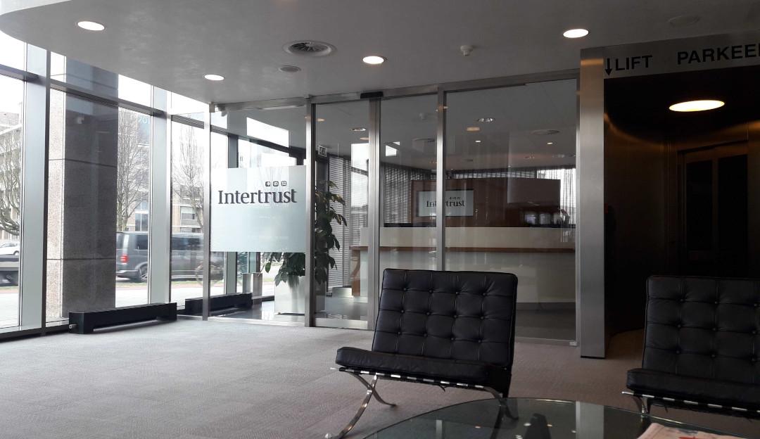 Fotografía de la oficina de Intertrust en Ámsterdam