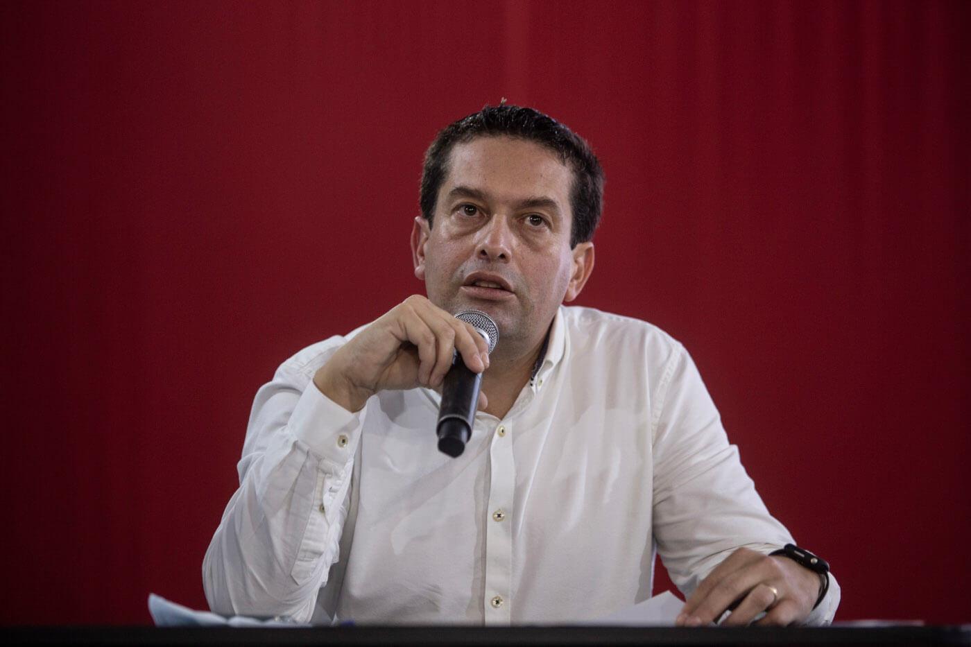 Fotografía del excongresista Miguel Ángel Torres.