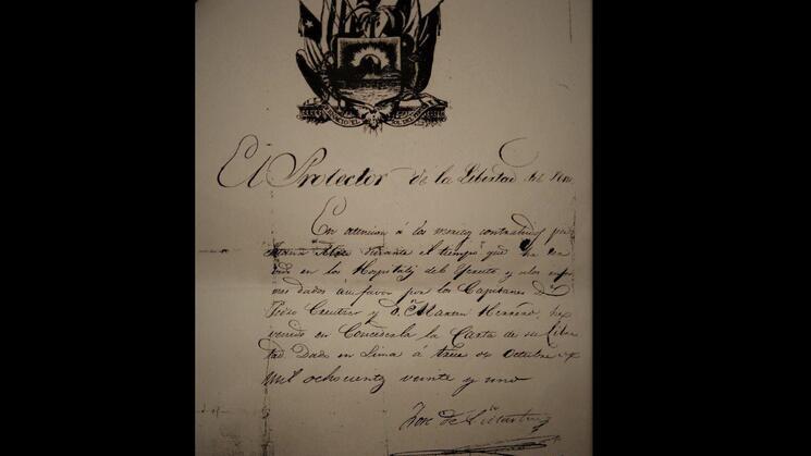 ROBO. Copia facsimilar del documento desaparecido. La pérdida fue reportada el 14 de noviembre pasado.